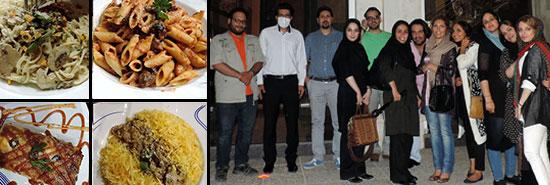 رستوران گردی در پاستا پاستا شیراز