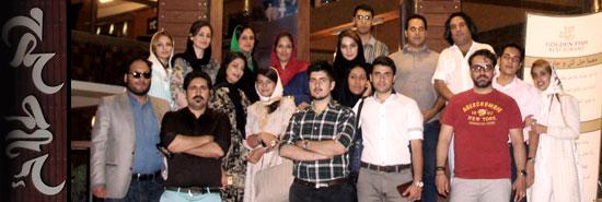 رستوران گردی در گلدن فیش شیراز