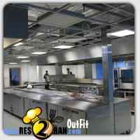 تجهیز رستوران - تجهیز آشپز خانه فست فود res2ran.com