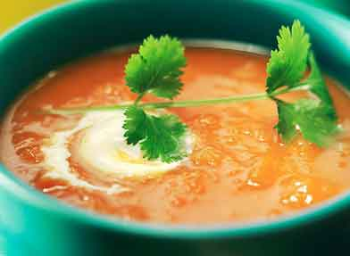 پیش غذا سوپ ایتالیایی