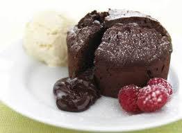 دسر و شیرینی چاکلت فاندانت