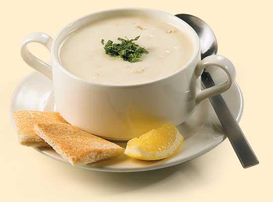 پیش غذا سوپ مرغ