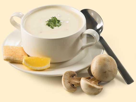 پیش غذا سوپ قارچ