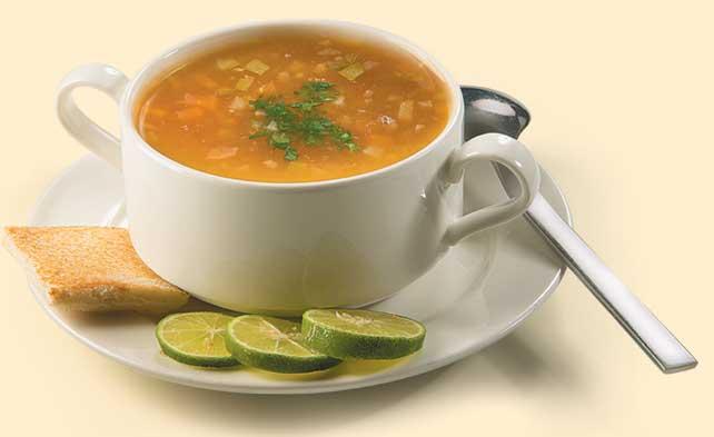 پیش غذا سوپ سبزیجات