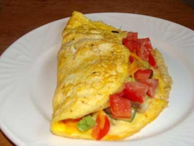 صبحانه املت مکزیکی