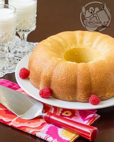 دسر و شیرینی کیک شیر