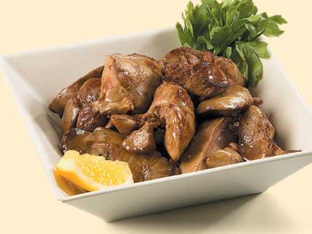 پیش غذا جگر مرغ