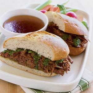 ساندویچ بیف