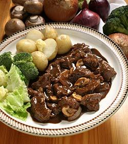 خوراک استیک قارچ