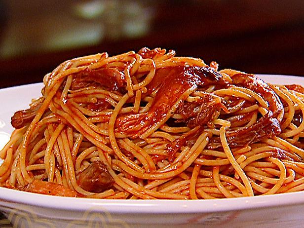 خوراک اسپاگتی