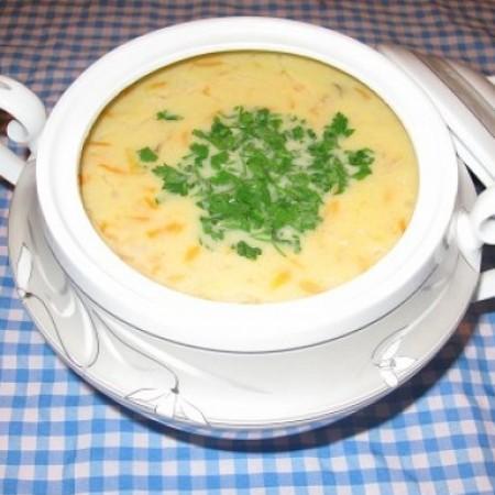پیش غذا سوپ جو