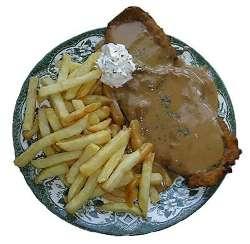 خوراک استیک ژرمن