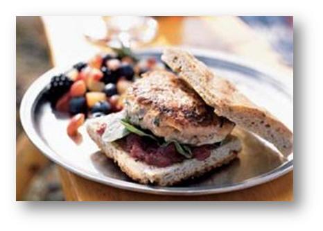ساندویچ ماهی برگر