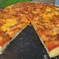 پیتزا بیکن
