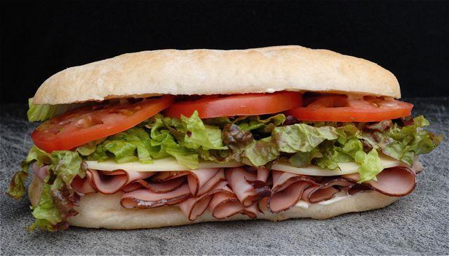 ساندویچ ژامبون