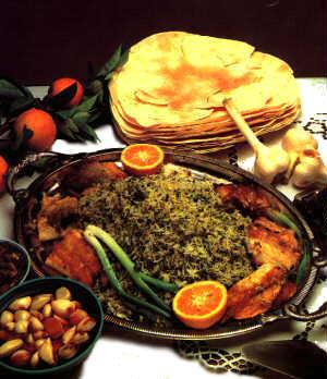 سبزی پلو با ماهی,www.res2ran.com