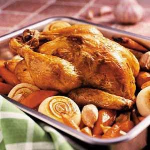 خوراک مرغ بریان