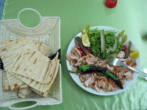 خوراک کباب ترکی