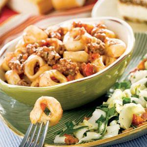 خوراک تورتولینی