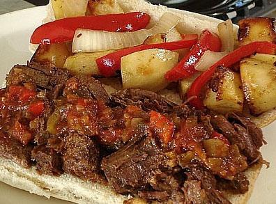 ساندویچ گوشت,www.res2ran.com