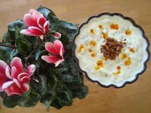 خوراک بورانی بادمجان