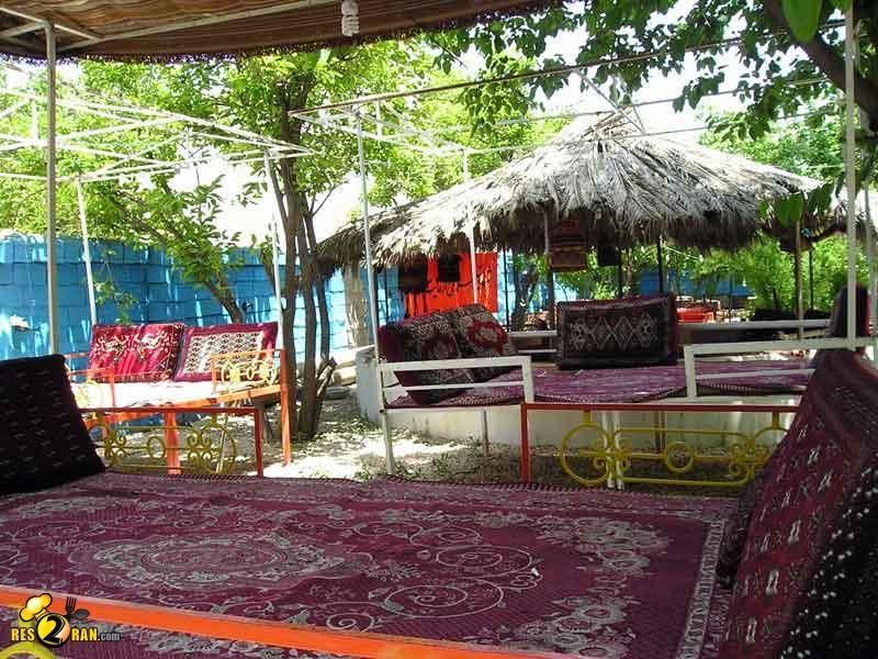 های شهر شیراز باغ رستوران آلاچیق نگین , رستوران های شیراز